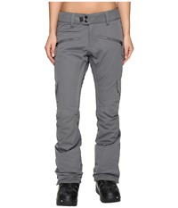 686 Authentic Mistress Insulated Cargo Pants Steel Women's Casual Pants Silver