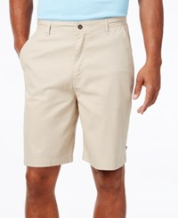 Geoffrey Beene Men's Classic Fit Striped Shorts Stone