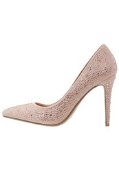 Dorothy Perkins Cancan Classic Heels Peach Nude