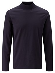 John Lewis Kin By Turtle Neck Top Navy