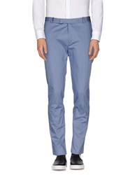 H Sio Trousers Casual Trousers Men Azure
