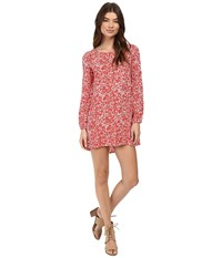 Billabong Heart Strayed Dress Rad Red Women's Dress