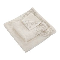 Pendleton Pecos Sculpted Towel Ivory Bath Towel