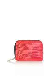 Topshop Ombre Oyster Card Holder Red