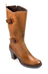 Summit By White Mountain 'Lassie' Tall Boot Women Saddle Leather