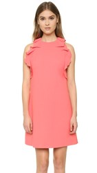 Giambattista Valli Sleeveless Dress Coral