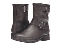 Frye Vicky Engineer Smoke Washed Oiled Vintage Women's Boots Black