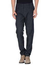 Patrizia Pepe Trousers Casual Trousers Men Steel Grey