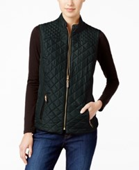 Charter Club Quilted Puffer Vest Only At Macy's Deep Black