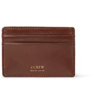 J.Crew Leather Cardholder Brown