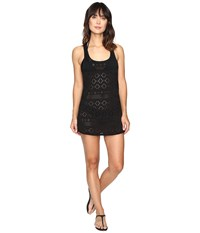 Roxy Crochet Sporty Cover Up True Black Women's Swimwear