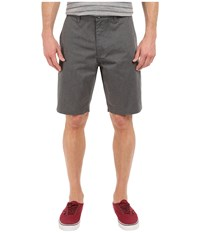 Rvca The Week End Shorts Charcoal Men's Shorts Gray