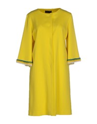 Jo No Fui Coats And Jackets Coats Women Yellow