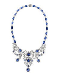Cz By Kenneth Jay Lane Necklaces Blue