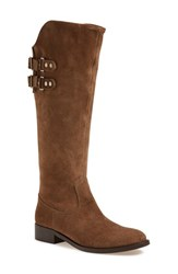 Women's Andre Assous 'Roma' Tall Boot Taupe Leather