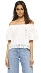 Lovers Friends Seamist Top Ivory