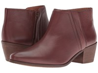 Carlos By Carlos Santana Hyde Mohagany Leather Women's Shoes Brown