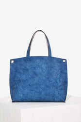Blue Crush Mini Reversible Tote Bag