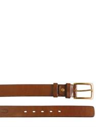 The Bridge 35Mm Adjustable Leather Belt