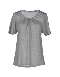 Stefano Mortari T Shirts Light Grey