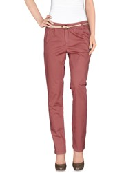 Franklin And Marshall Trousers Casual Trousers Women Pastel Pink