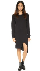 Oak Sweatshirt Dress Black