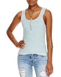 Free People Time Out Tank Mint