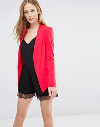 Bcbgeneration Bcbg Generation Tuxedo Blazer Bright Coral 612 Red