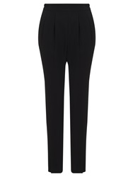 John Lewis Capsule Collection Kimmy Elasticated Trousers Black
