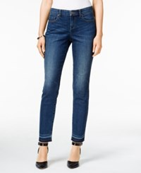 Styleandco. Style Co. Curvy Copper Wash Released Hem Ankle Jeans Only At Macy's