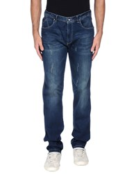 Geox Denim Denim Trousers Men Blue