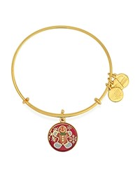 Alex And Ani Gingerbread Man Expandable Wire Bangle