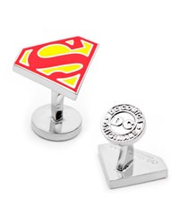 Cufflinks Inc. Superman Shield Enamel Cuff Links