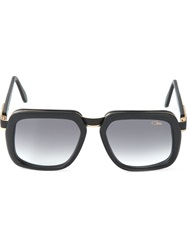 Cazal Square Frame Sunglasses Black