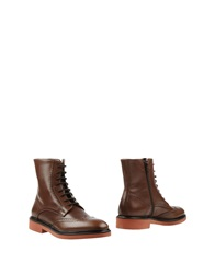 Doucal's Ankle Boots Cocoa