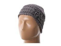San Diego Hat Company Rec1002 Recycled Yarn Flower Beanie Grey Beanies Gray