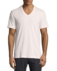 James Perse V Neck Short Sleeve Tee Pink Men's
