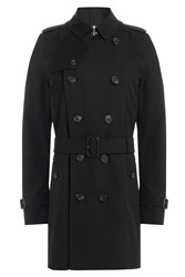 Burberry London Cotton Trench Jacket Black