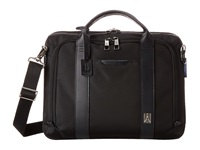 Travelpro Executive Choice Checkpoint Friendly Slim Brief Black Briefcase Bags