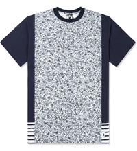 Pam Navy Ditzy S S T Shirt