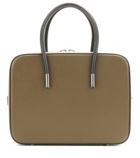 Tom Ford Ava Leather Tote Green