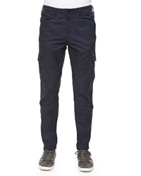J Brand Trooper Gainsboro Cargo Pants Black