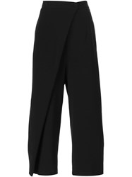 Ivan Grundahl 'Urba' Wide Leg Trousers Black