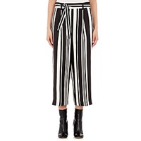 Tomorrowland Women's Twill Crop Trousers No Color