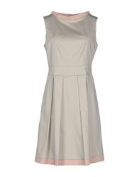 Ekle' Dresses Short Dresses Women Light Grey