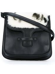 Jamin Puech Flap Closure Crossbody Bag Black