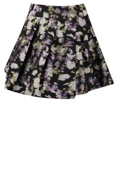 Banana Republic Mini Skirt Summer Plum Lilac