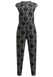 Wal G. Jumpsuit Black White