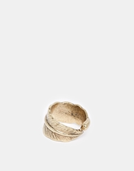 Asos Feather Ring Gold