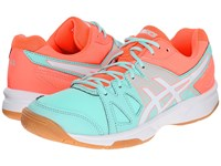 Asics Gel Upcourt Mint White Fiery Coral Women's Shoes Green